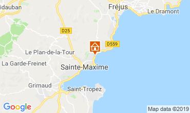 Mappa Sainte Maxime Appartamento 8543
