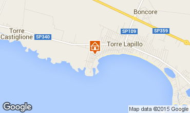 Mappa Porto Cesareo Casa 96965