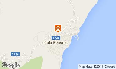 Mappa Cala Gonone Appartamento 102607