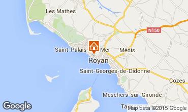 Mappa Royan Villa  6770