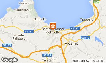 Mappa Castellammare del Golfo B&B 101261