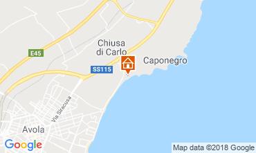 Mappa Avola Appartamento 113683