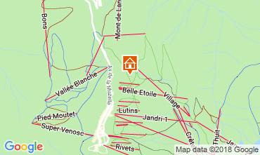 Mappa Les 2 Alpes Appartamento 116663