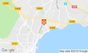 Mappa La Ciotat Villa  110277