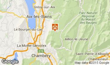 Mappa La Féclaz Chalet 65968