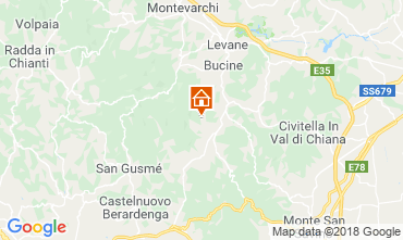 Mappa Arezzo Casa 117228