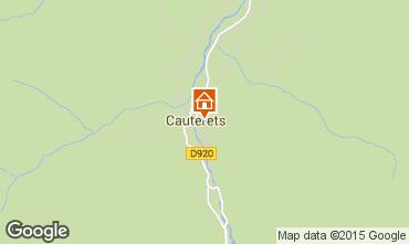 Mappa Cauterets Appartamento 55364