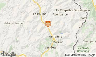 Mappa Morzine Chalet 20754
