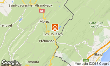 Mappa Les Rousses Appartamento 73967