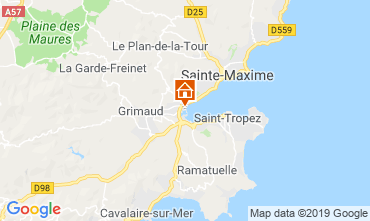 Mappa Port Grimaud Casa mobile 5686