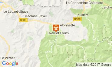Mappa Barcelonnette Appartamento 112000