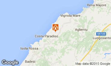 Mappa Trinità d'Agultu e Vignola Appartamento 72052