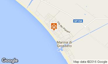 Mappa Marina di Grosseto Appartamento 103011