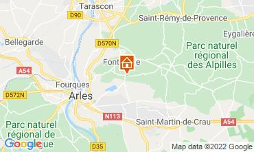Mappa Fontvieille Agriturismo 118591