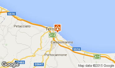 Mappa Termoli Villa  53557