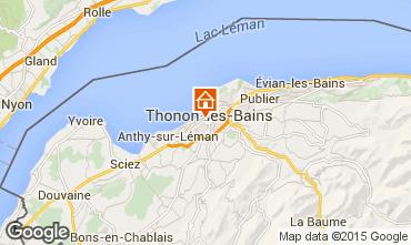 Mappa Thonon Les Bains Appartamento 101933