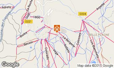 Mappa La Plagne Appartamento 85275