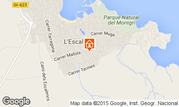 Mappa L'escala Villa  96172