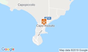 Mappa Isola di Capo Rizzuto Appartamento 118989