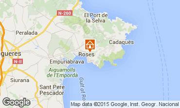 Mappa Rosas Villa  80944