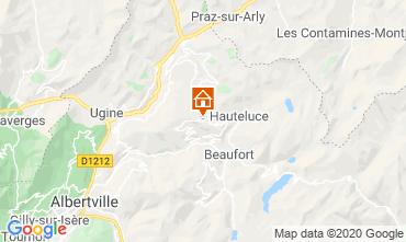 Mappa Les Saisies Appartamento 23257