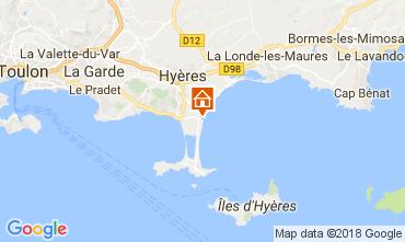 Mappa Hyères Monolocale 107873