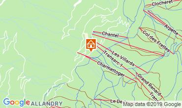 Mappa Les Arcs Appartamento 116604
