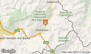 Mappa Chamonix Mont-Blanc (Monte Bianco) Chalet 682