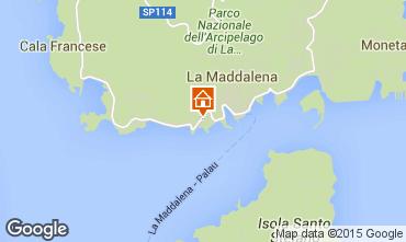 Mappa La Maddalena Appartamento 77763