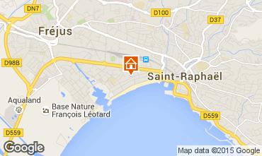 Mappa Fréjus Appartamento 93863