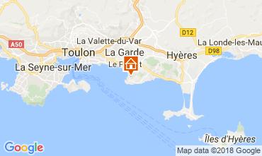 Mappa Le Pradet Casa 105230