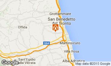 Mappa San Benedetto del Tronto Appartamento 44336