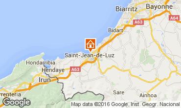 Mappa Saint Jean de Luz Appartamento 76153