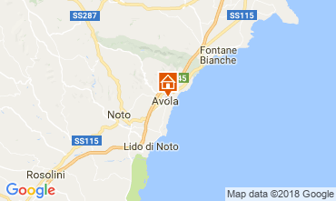 Mappa Avola Appartamento 113937