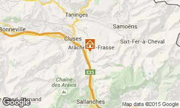 Mappa Les Carroz d'Araches Appartamento 59084