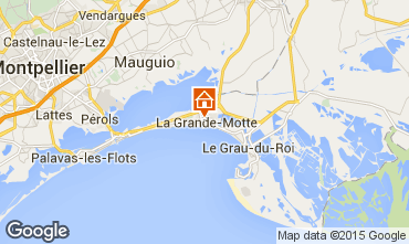 Mappa La Grande Motte Monolocale 78017
