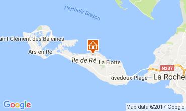 Mappa Saint Martin de Ré Casa 108028