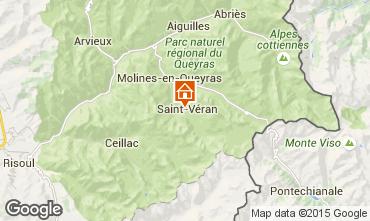 Mappa Molines Saint-Véran Appartamento 67854