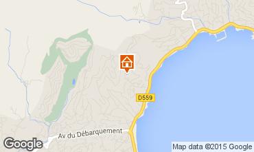 Mappa Sainte Maxime Appartamento 70898