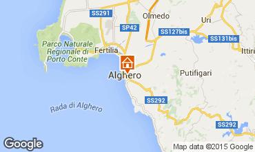 Mappa Alghero Appartamento 78463