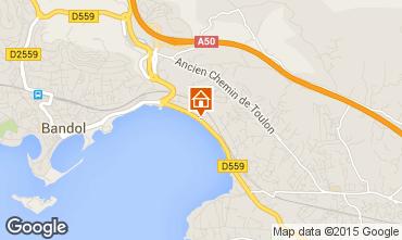 Mappa Bandol Appartamento 8604
