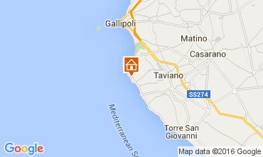 Mappa Gallipoli Villa  71459