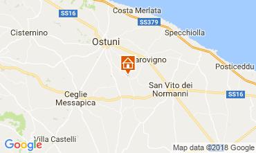 Mappa Ostuni Villa  115529
