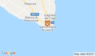 Mappa Santa Maria di Leuca Monolocale 70873