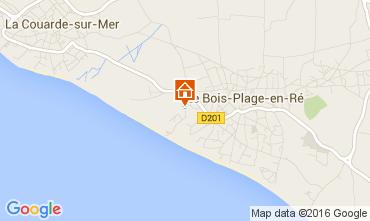 Mappa Le Bois-Plage-en-Ré Casa 15077