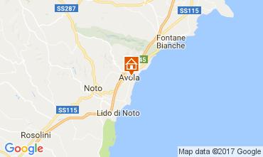 Mappa Avola Appartamento 109647