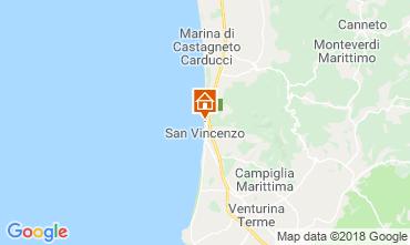 Mappa San Vincenzo Appartamento 117083