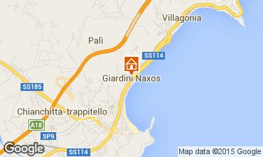 Mappa Giardini Naxos Monolocale 80899