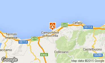 Mappa Cefal� Villa  40175