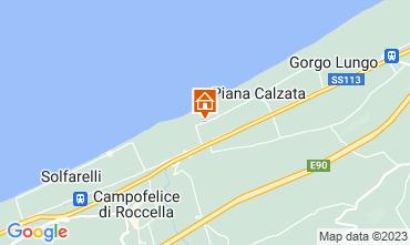 Mappa Cefalù Villa  40175
